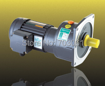 цена на 750W 22mm small AC gear motor light duty type 3 phase motors with 2# gearbox ratio 3~10 induction motor