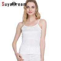 Women Silk Camis 100 Natural Silk Basic Camisoles Comfortable Silk Tank Tops 2017 Summer Halter Top