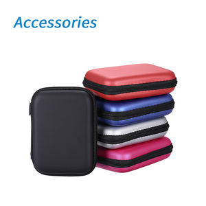 Portable HDD SSD Accessories EVA Shockproof 2.5 inch Hard Drive Carrying Case 2.5