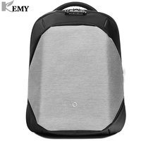 KEMY Korin Anti theft Waterproof 15.6 Inch Laptop Backpack Click Pro New Design for Men and Women Computer Bag Travel Business