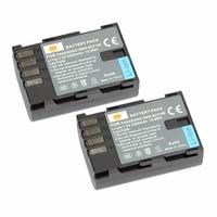 DSTE 2PCS DMW BLF19E BLF19 BLF19E Rechargeable Battery For Panasonic Lumix DMC GH3 DMC GH4 Camera