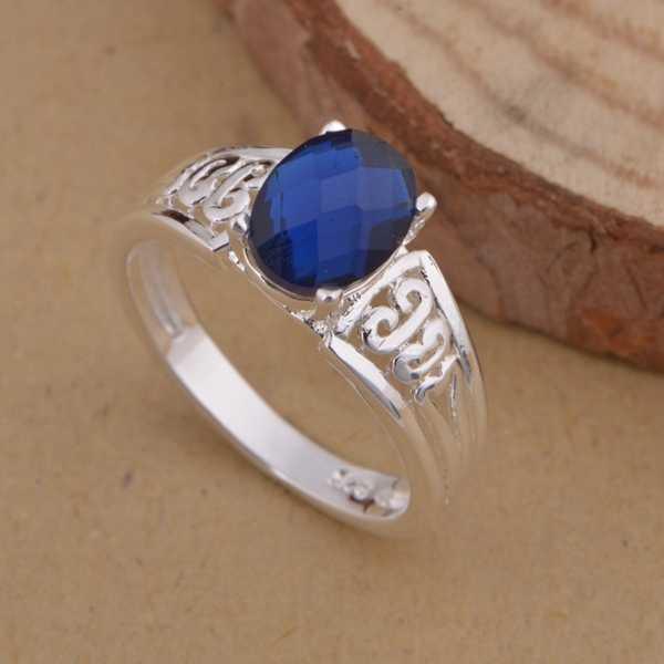 סיטונאי באיכות גבוהה כסף מצופה תכשיטים טבעות WR-1020