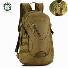 b2662871bd9 Protector Plus 20L Waterdichte Rugzak Militaire Tactische Molle Army Bag  Camping Wandelen Rugzak Duurzaam Schooltas Outdoor Tas