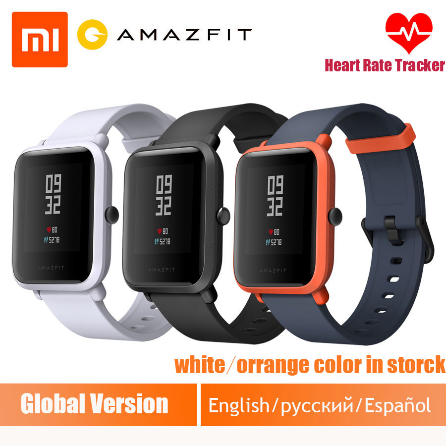 Xiaomi Smart Watch Amazfit bip English Spanish Russian Multi language sports Global Version fitness Smartwatch