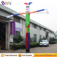 Personalized 20 feet inflatable air clown dancer / 6 meters inflatable clown air dancer / inflatable clown toy