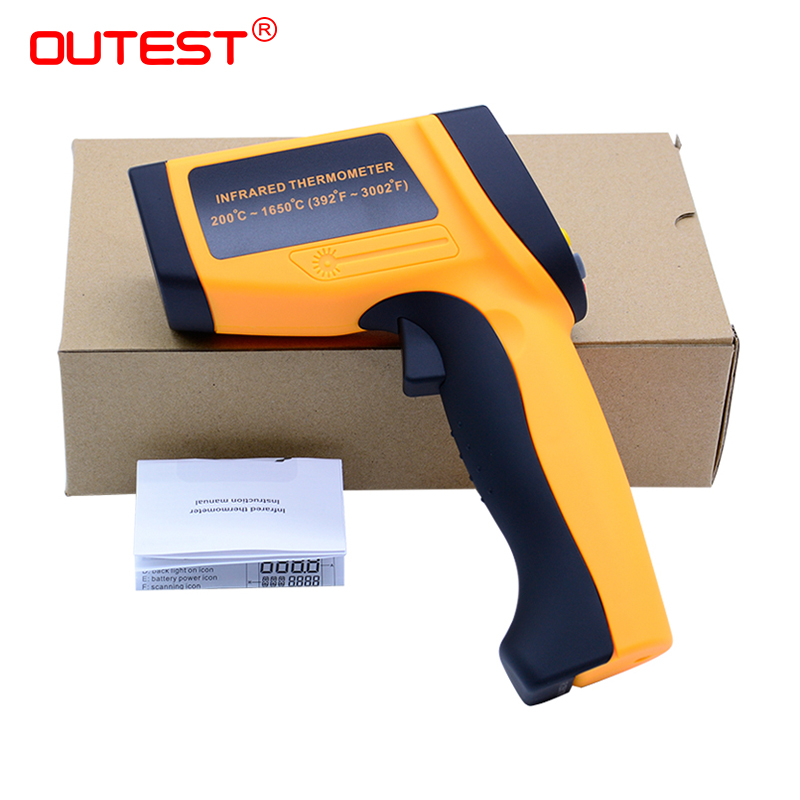 Digital thermometer gun non contact infrared thermometer laser Pyrometer professional industrial temperature gun ir anti fatigue eyesight vision improve pinholes stenopeic glasses eye care sunglasses