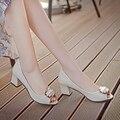 Mujer Zapatos de Las Mujeres Bombas Plue Tamaño 35-39 Nuevo 2016 Sexy Banquete de Boda de Tacón Fino Dedo Del Pie Acentuado de Las Mujeres zapatos de Tacón alto