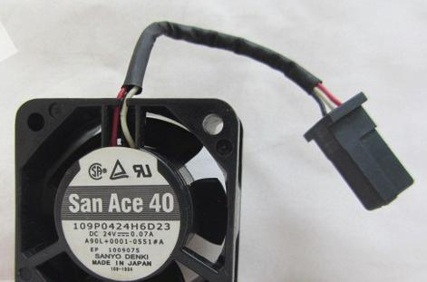 Fanuc 0I amplifier cooling fan Sam Ace or NMB A90L-0001-0551#A 109P0424H6D23 new original for fanuc system fan a90l 0001 0551 a nmb 1608vl 05w b49 24v 0 07a 40 40 20mm 4cm