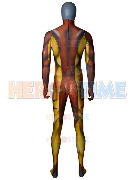 Sabretooth Victor Creed Cool Costume 3D Printing Superhero cosplay Zentai suit Halloween jumpsuit for adult/kids - 3