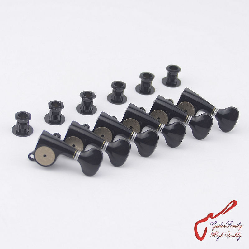 1 Set Original Genuine 6 In-line GOTOH SGS510Z-S5-HAPM Locking Height Adjust Guitar Machine Heads Tuners (Black) MADE IN JAPAN savarez 510 cantiga series alliance cantiga normal high tension classical guitar strings full set 510arj