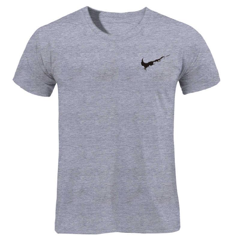 2019 Nieuwe Merk Gewoon Breken Print T-Shirts Mannen/Vrouwen Casual Cool O-hals mannen T-shirt Zomer Korte mouwen Hip Hop Kleding 3XL