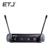 ETJ Marca Profissional UHF Sistema de Microfone Sem Fio PGX Receiver
