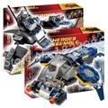 246 шт. Бэтмен Бела SY383 DC Супермен ЩИТ Ultron Мстители Модель Строительного кирпича фигурки Игрушки Совместимо С Lego