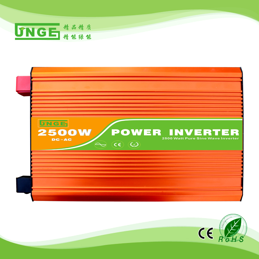 2.5KW/2500W 12/24/48V to 100/110/120/220/230/240VAC 50/60Hz residential home high frequency use pure sine wave off grid inverter 50 60hz 48v dc sine wave inverters 6000w