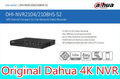 English firmware 4CH 8ch HDMI FULL HD NVR ONVIF NVR2104HS-S2 NVR2108HS-S2 Security IP Network Video Recorder CCTV Dahua Original full hd1080p standalone 8ch cctv nvr hdmi cloud ip network security surveillance video recorder plug and play onvif 2 0