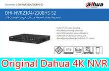 English firmware 4CH 8ch HDMI FULL HD NVR ONVIF NVR2104HS-S2 NVR2108HS-S2 Security IP Network Video Recorder CCTV Dahua Original