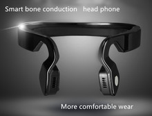Fineblue Smart Bone Conduction bluetooth Stereo headphone earphones Sports headphones headset with micro For Running Cycling