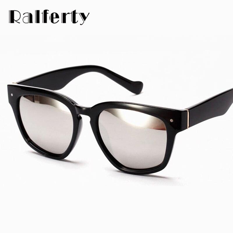 Ralferty Marca Designer Mulheres Óculos De Sol Anti UV 400 Óculos de  Proteção solar Ao Ar Livre Fêmea Revestimento Espelhado Óculos de sol oculos  1539 48797793af