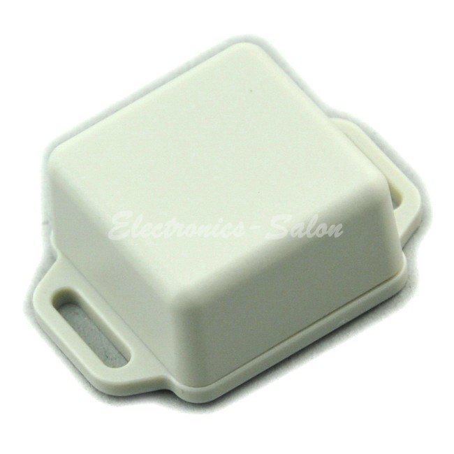 Small Wall-mounting Plastic Enclosure Box Case, White,36x36x20mm, HIGH QUALITY.