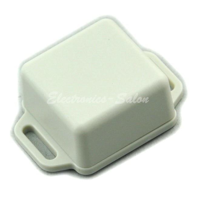 Small Wall-mounting Plastic Enclosure Box Case, White,36x36x20mm, HIGH QUALITY.