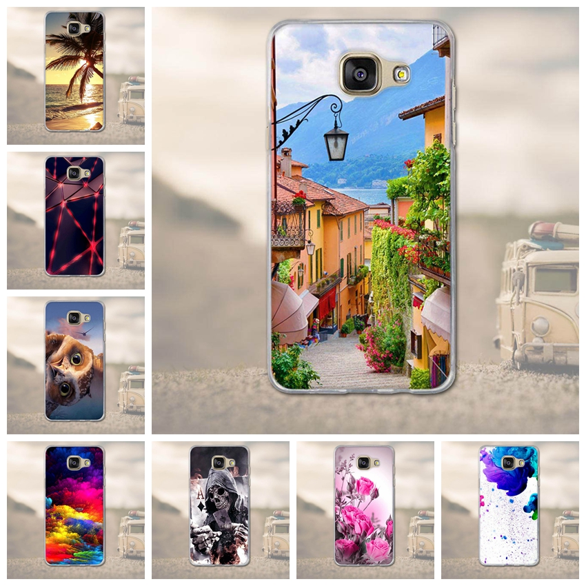 for Samsung Galaxy A5 2016 A510 Phone Case Back Cover for Coque Samsung Galaxy A5 A510 Mobile Phone Case Luxury TPU Soft Shell