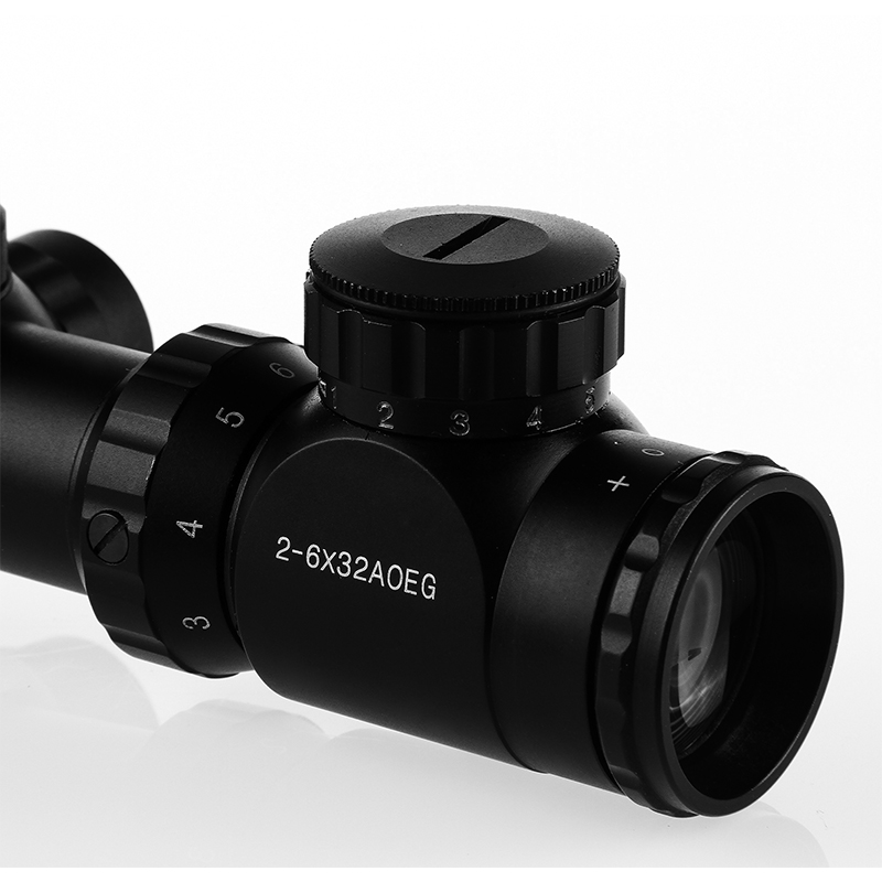 Reflex 2-6x32 Tactical Red Green Mil-dot Sight Rifle Scope With 20MM Rail Mount for Outdoor Hunting Shooting Riflescope светильник настольный camelion kd 786 c13 голубой led 5 вт 4000к