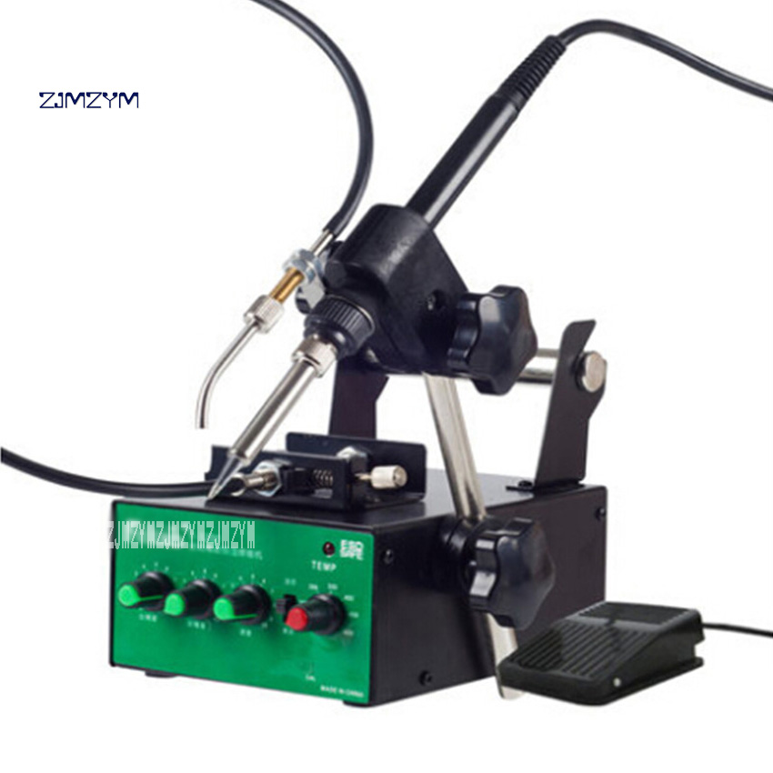 New Arrival F3200 Lead-free Constant Temperature Soldering Machine Pedal Automatic Anti-static Soldering Machine 110V / 220V 60W automatic tin feeding machine constant temperature soldering iron teclast multi function foot soldering machine f3100a