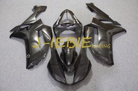 Black Injection Fairing Body Work Frame Kit For Kawasaki NINJA ZX6R ZX6 ZX 6 R 2007
