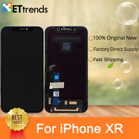 3 шт./лот 100% лучший оригинальный новый экран дисплей для iPhone XR ЖК экран дигитайзер сборка идеальная яркость DHL Бесплатная доставка
