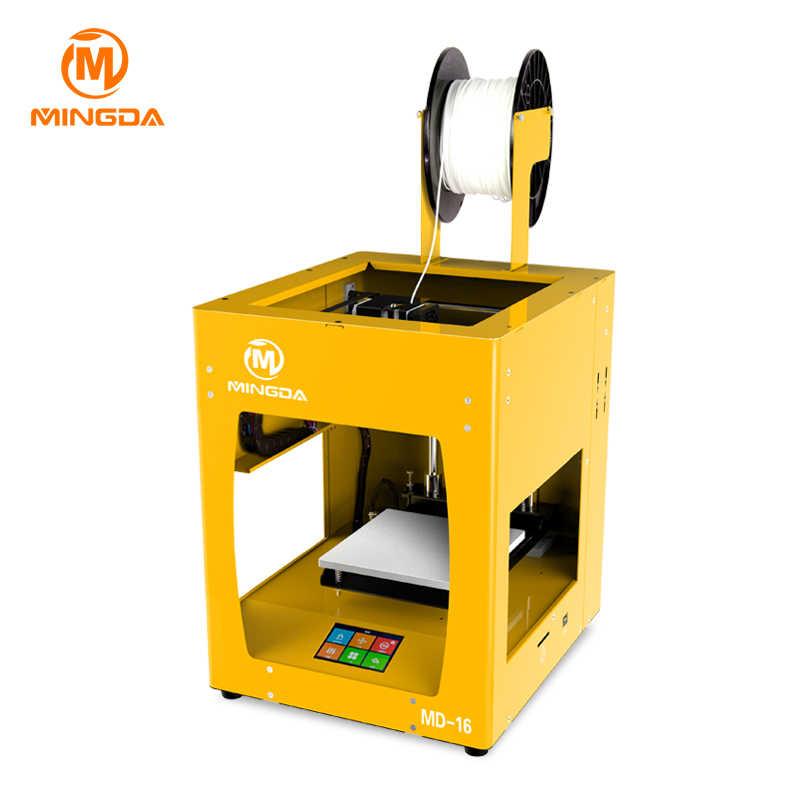 Высокое качество лучший 3d принтер 2017 FDM Профессиональный маленький размер 3D печатная машина Impressora 3D модель делая машину использовать