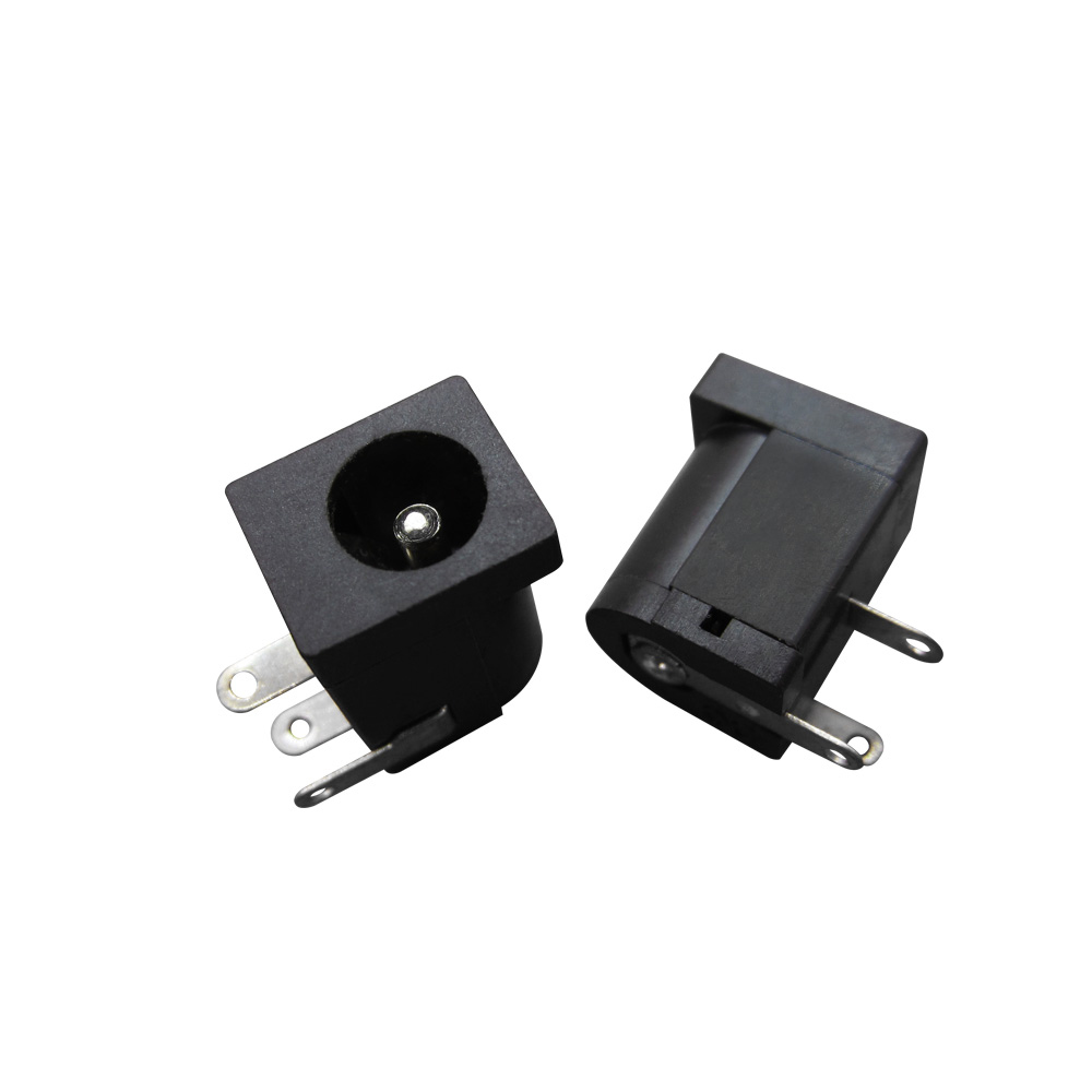 10PCS/LOT DC Power A 5.5 Mm In Diameter Needle 2.1 Mm DC-005 Power Socket Supply Jack Socket 5.5 X 2.1 Mm