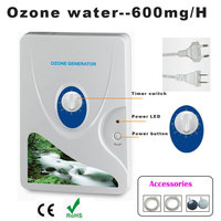 Dropshipping Ozone Generator Ozonator Ozonizer ionizer O3 Timer Air Purifiers Oil Vegetable Meat Fresh Purify 220V 110V