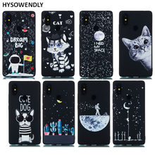 HYSOWENDLY Lovely Dog Phone Case For Xiaomi 8 8SE 8Pro F1 Astronaut Silicone TPU Cover For Redmi 4A 4X Note 4X 5 6 6A 6Pro Cases(China)
