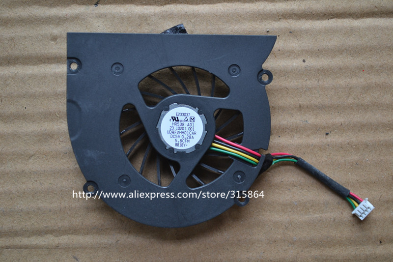 100% New laptop cpu cooling fan for DELL XPS M1330 M1310 M1318 PP25L UDQF2HH01CAR