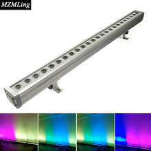 24x4w RGBW 4-In-1 Waterproof Led Wall Wash Light DMX512 Washer Led Outdoor /Flood Light DJ /Bar /Party /Show /Stage Light
