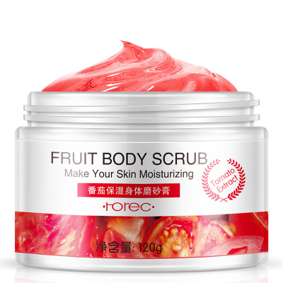 HOT Horec Fruit Exfoliating Lotion Cleaning Moisturizing Rubbing Mud To Death Skin Condensation Creams 120g