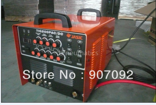 High Quality TIG200P AC/DC TIG/MMA PULSE 2 in1 Welding Aluminium WSE200P WP26 Torch 220~240V JASIC Welder Machine Japan image