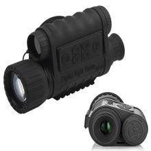 Цифровой Ночное видение Монокуляр 6×50 мм с 1.5 дюймов TFT ЖК-дисплей 350 м дальность обнаружения Инфракрасный HD Камера видеокамера функция занимает 5mp