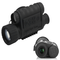 Digital Night Vision Monocular 6x50mm With 1 5 Inch TFT LCD 350m Detection Range Infrared HD