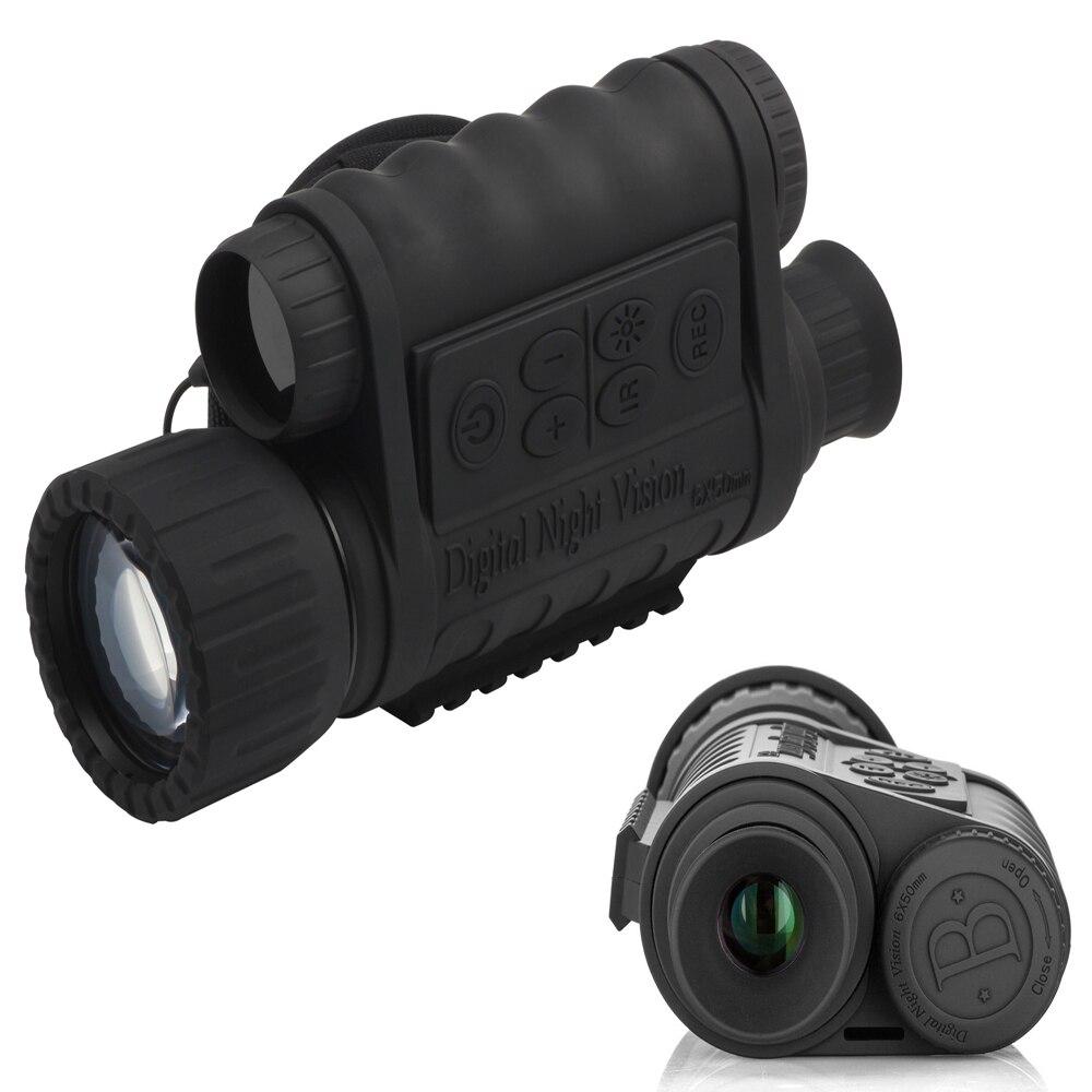 WG-50 Monoculaire Chasse Night Vision Sight Portée de Tir de Chasse Jumelles Officielles D'origine Optique Nuit Sight Bateau Libre