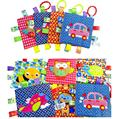 30pcs JJOVCE Baby products super soft appease towel cute cartoon hand grasping Square animals toys towel