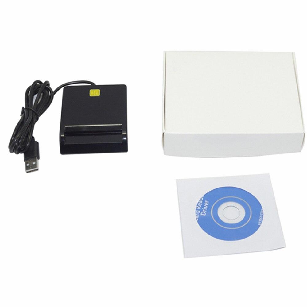 Купить с кэшбэком Zoweetek 12026-1 USB Smart card reader writerPC/SC USB-CCID EMV ISO7816