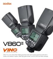 Godox V860II Camera Flash GN60 HSS TTL Speedlite Flash Trigger Flashlight for Canon Nikon Sony Olympus Fujifilm Synchronizer