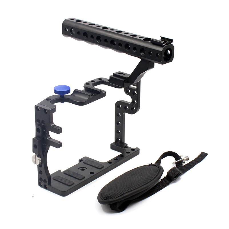 F11100 for Professional Panasonic GH3 GH4 Protective Housing Case Handle Grip Rugged Cage Combo Set for DSLR Rig Digital Camera