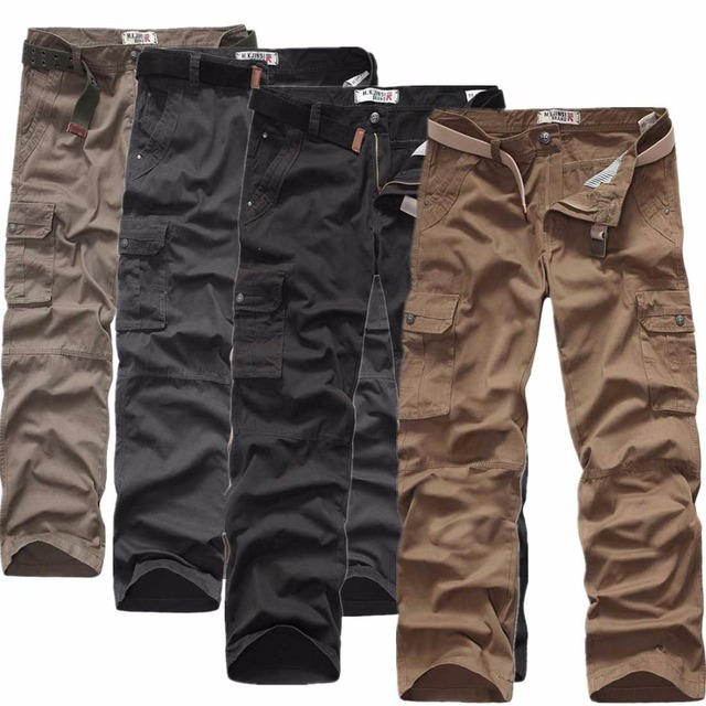 2016 nuevo algodón yardas grandes rectas overoles de algodón pantalones de cintura elástica bolsillo micro