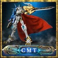 CMT Auf Lager Tungmung-01 Omega X Metall Bauen Omegamon Digitale Monster Figur Anime Spielzeug Abbildung