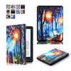 Luxury Picture Print Flip Leather Case Cover for New Kindle 2016 8th Generation Fundas for Amazon Kindle 8 Generation 2016 Case