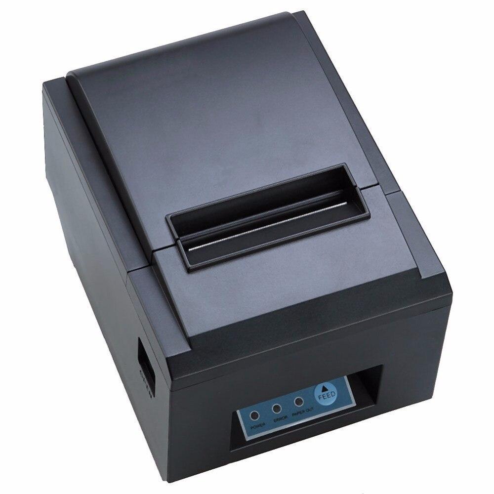 WIFI Ethernet interface Auto-cutter printer POS thermal receipt printer ZJ-8250 pos thermal bill printer