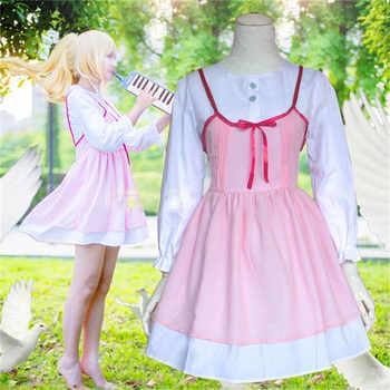 1pcs Anime Your Lie in April Cosplay Shigatsu wa Kimi no Uso Kaori Miyazono First episode Adult Pink Dress Girls Cosplay Costume - DISCOUNT ITEM  30% OFF All Category