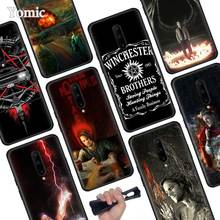 Supernatural Jared Padalecki Black Soft Case for Oneplus 7 Pro 7 6T 6 Silicone TPU Phone Cases Cover Coque Shell